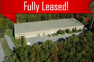 A commercial building leased by Howland Development in Wilmington, MA