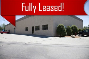 A large commercial building that has been fully leased through Howland Development in Wilmington, MA